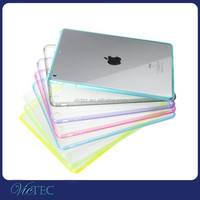 Factory wholesale ultra-thin transparent acrylic+tpu 2 in 1shockproof case for tablet of ipad mini