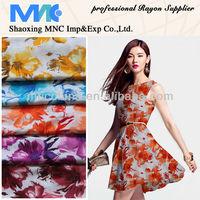 rayon t shirts 100% rayon printed spun rayon fabric
