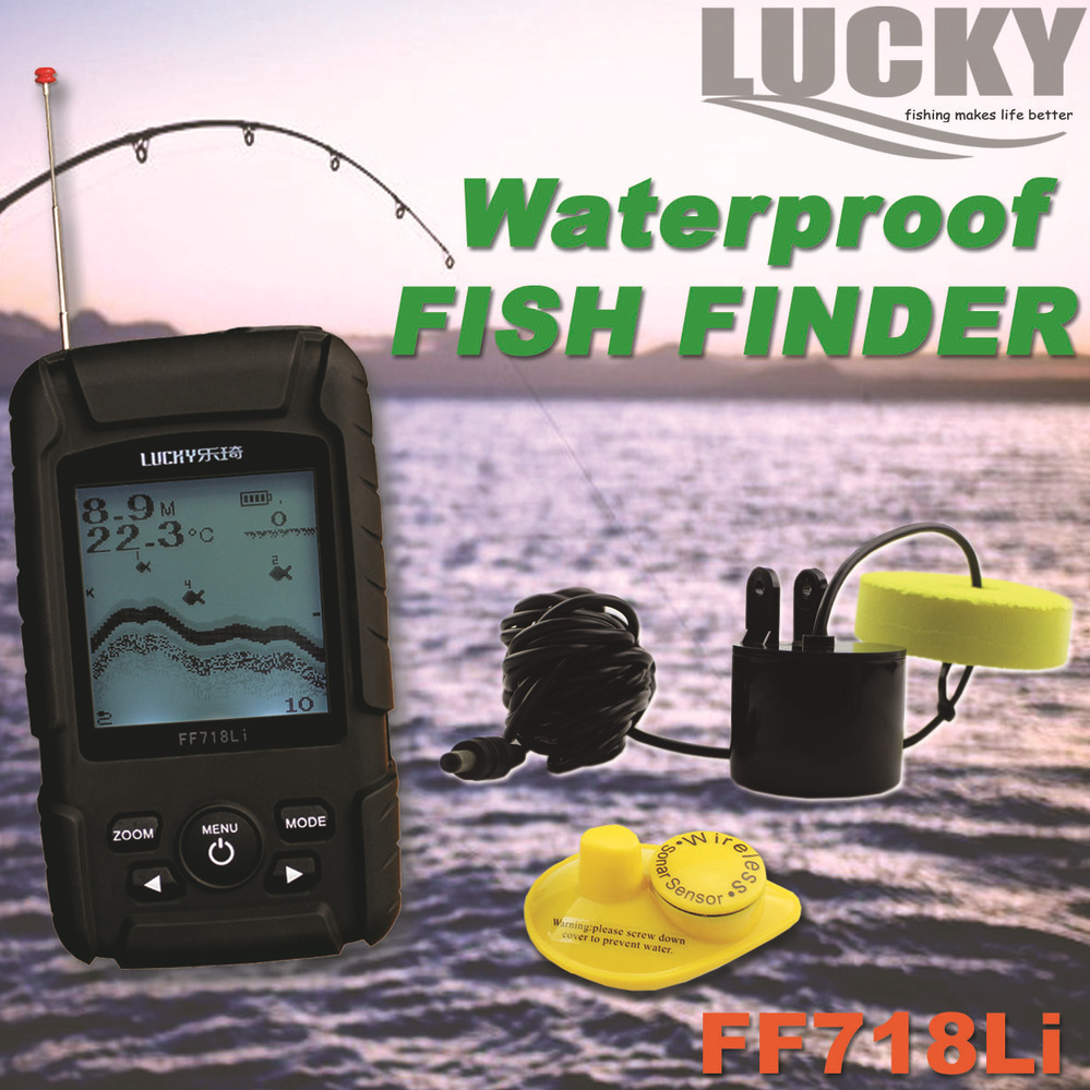 Dual Beam Fish Finder FF718Li