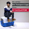 Comfrotable design dog Flight Carrier & airling cage & transport house