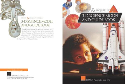 3-D modelo de la ciencia y guía
