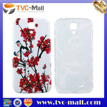 Red Plums Embossed back cover samsung galaxy s4