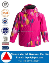 European HOT Style Printed Kids Crane Ski Jacket Fleece Lined Winter Jacket