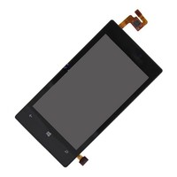 New original black lcd touch screen digitizer assembly for nokia lumia 520
