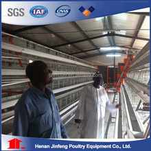 Layer/broiler/pullet modern poultry cage with automatic system