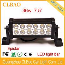 led daytim run light,offroad led light bar,Long life led light bar 36w IP67