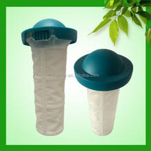 Low price excellent quality silicone tea infuser with steel filter