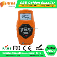 OBD2/EOBD digital auto scanner for VW and Audi -read DTCS for 78 main systems