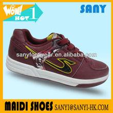 popular pu skate shoes power shoes high skateboard shoes from quanzhou