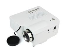 Multimedia Mini LED Portable Projector screen Cinema Theater Support PC Laptop VGA /AV/USB/SD Input
