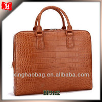 Big designer crocodile bag bali moroccan leather bag for man