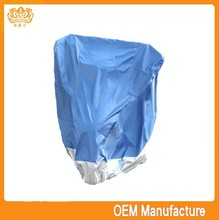 double colour 190t 150cc motorcycle cover,waterproof motorcycle side cover at factory price