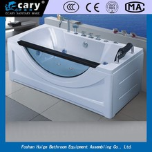 WLS-803 Massage Function and Corner Installation Type beautiful hot bath massage bathtub
