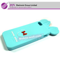 Cute minnie mouse Mobile phone silicone case for Iphone5