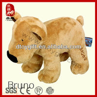 2014 hot selling toy wholesale for home decoration new born baby gift wholesale animal shaped stuffed dog plush toy