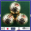 colored very funny LED golf ball