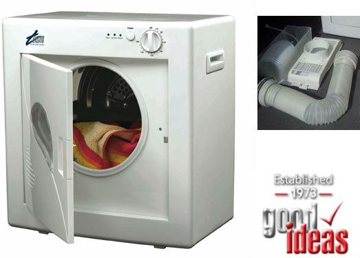 Tumble Dryers Espanol ~ Compact table top white tumble dryer ideal for smaller