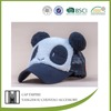 BSCI Audit polyester embroidered panda kids free sex girls with animals free mink fur hat