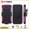 factory wholesale cell phone case for Kyocera Wave/C6740 stander case