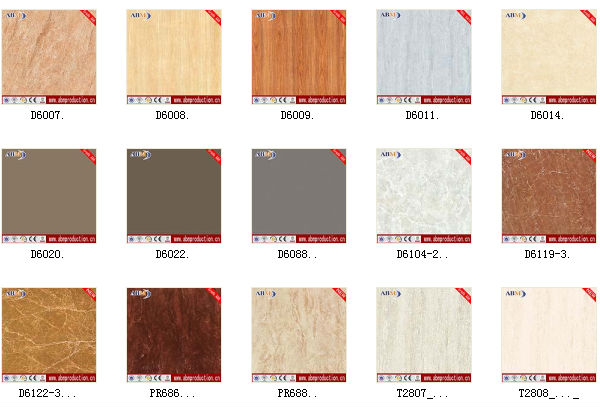 60X60 CM Rustic Tile Homogeneous Floor Anti Slip And Wall