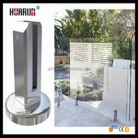 Manufacturer stainless steel spigot for balcony railing design glass, 316 stainless steel glass spigot