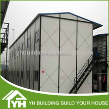 prefabricated K house with light steel structure