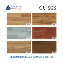UV treatment Wood design indoor Click pvc vinyl floor planks