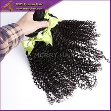 lasting best selling no acid processing no silicone hair products kinky curly Indian virgin hair