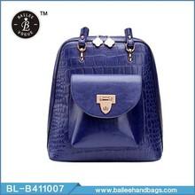retro color puro diseño elegante para las mochilas de las niñas