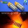 Factory led car light t20 ,68smd car led bulb ,7440 amber led