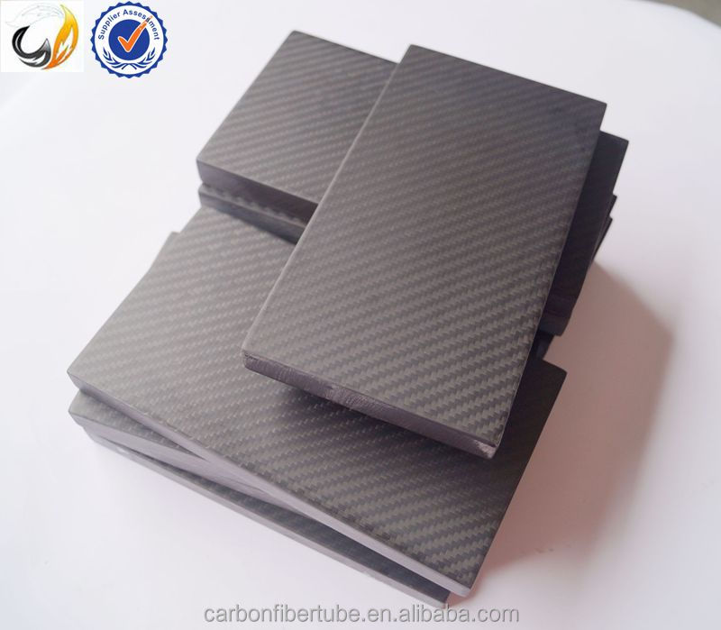 High performance 3K carbon fiber sheetplateboardblockpanellaminate