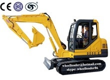 mini digger bucket earth moving machinery hydraulic crawler excavator