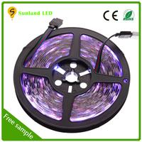 China factory price RGB SMD5050 300pcs 72W DC12V flexible cortina led