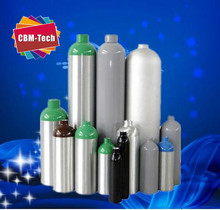 Different Sizes of High Pressure Gas Cylinders