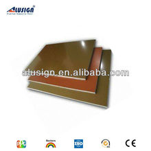 Alusign flexible decoration plastic wall panels