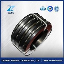 Best price pr6.0 125x82x15mm tungsten carbide rolls for forming smooth steel wires in Chile