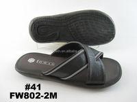 Men pu sandal 2015 new style art.no. FW802-2M