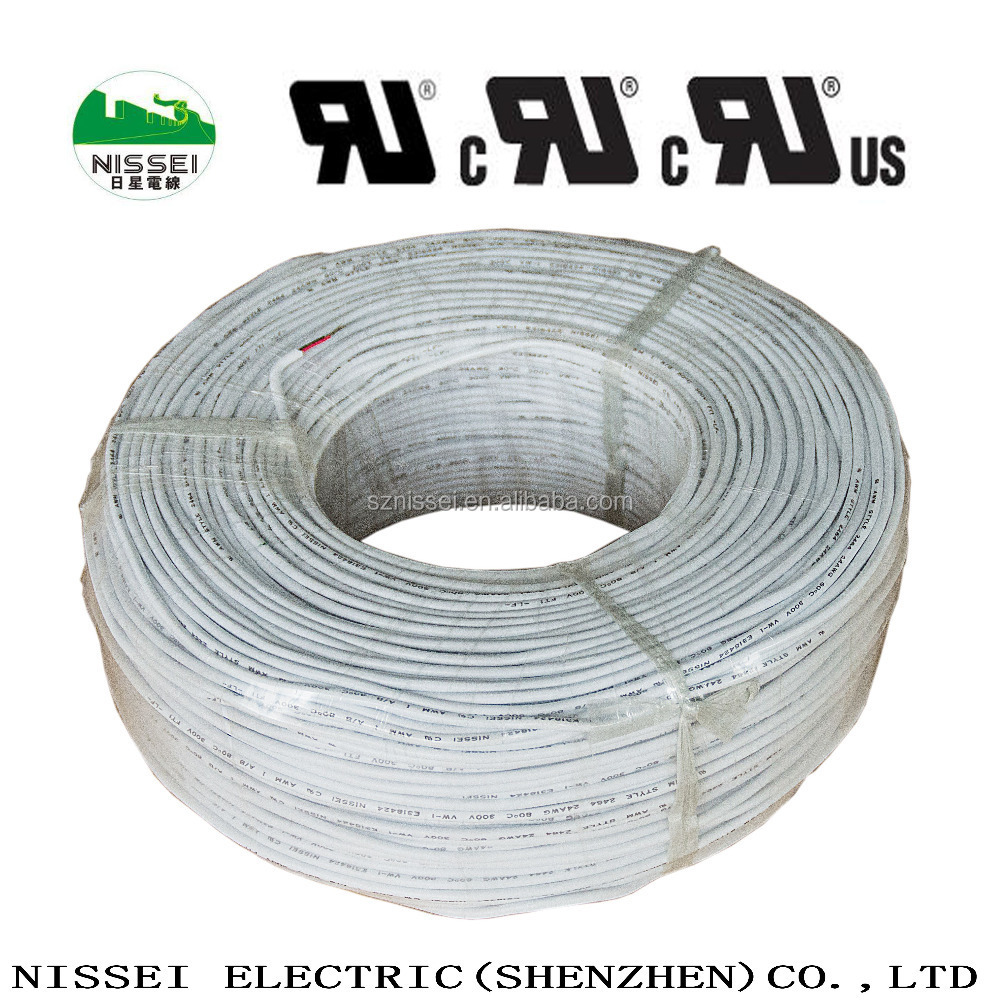 Silicone Insulated Wire : Ul heating resistance silicone insulated hook up wire