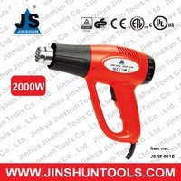 JS 2015 Professional Corded ceramic heat shrink gun for removing sticker JS-601E