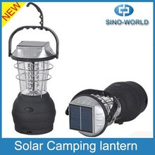Solar lantern with mobile phone charger, Portable USB Hand crank Dynamo Rechargeable small USB solar LED Camping Solar lantern