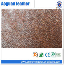 Handing soft high quality pvc artificial leather for sofa