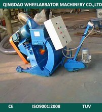 The Tunnel Pavement Shot Blasting Machine/Road Surface Cleaning