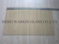 transparent glass ceramic for fireplace/stove