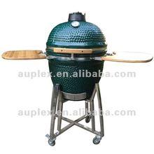 Outdoor 21'' ceramic kamado egg smoker for christmas gift