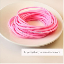 elastic band hair extensions hair rubber band