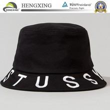 high quality fit bucket hat featuring embroidery on the crown and brim