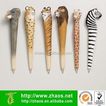 wood animal pen   wood pen blanks sale   cheap decorative pens