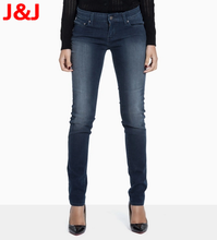 Free & Dropshipping Women Stretch Stonewash Denim Jeans Skinny Pencil Pants Tights Trouser