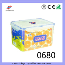 KF-0680 5000ML Houseware Plastic Food Container With Lid