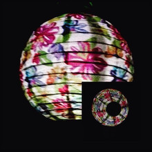 New fashion paper battery lantern for home decoration